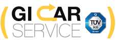 Gi Car Service Mobile Logo